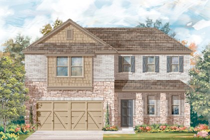 New Homes in Converse, TX - Plan 2502 3