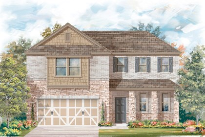 New Homes in San Antonio, TX - Plan 2502 C