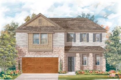 New Homes in Cibolo, TX - Plan 2502 - C