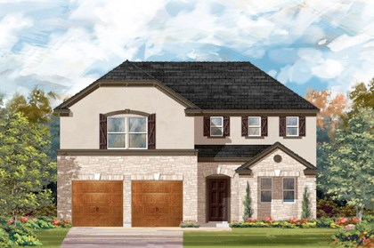 New Homes in Cibolo, TX - Plan 2502 - D