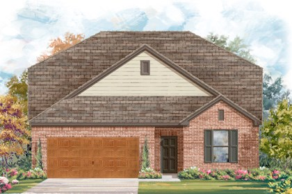 New Homes in Cibolo, TX - Plan 2655 - A