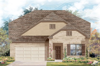 New Homes in Helotes, TX - Plan 2655 B