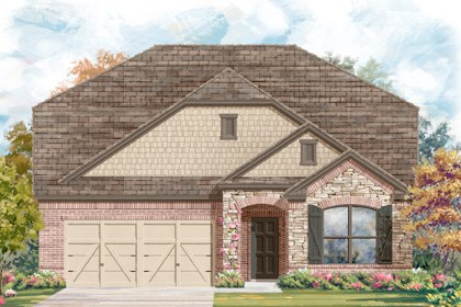 New Homes in Helotes, TX - Plan 2655 C