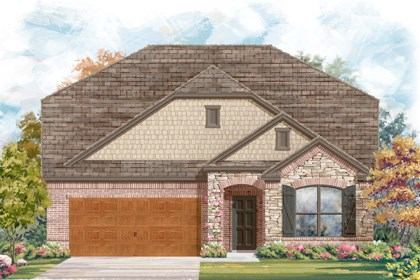 New Homes in Cibolo, TX - Plan 2655 - C