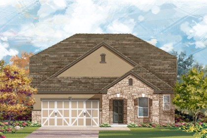 New Homes in San Antonio, TX - The 2655 D