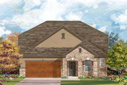 New Homes in Cibolo, TX - Plan 2655 - D