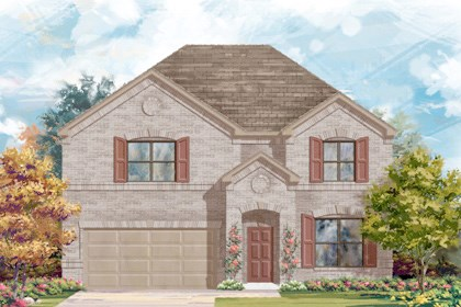 New Homes in San Antonio, TX - Plan 2755 A