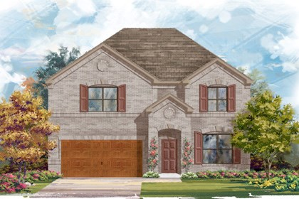 New Homes in Cibolo, TX - Plan 2755 - A