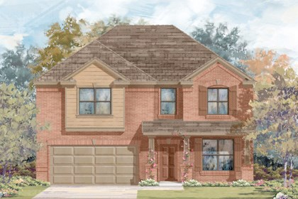 New Homes in San Antonio, TX - Plan 2755 B