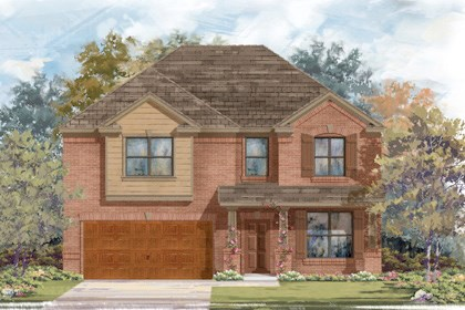 New Homes in Cibolo, TX - Plan 2755 - B