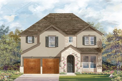 New Homes in Cibolo, TX - Plan 2755 - D