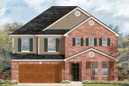 New Homes in Cibolo, TX - Plan 2881 B