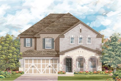 New Homes in San Antonio, TX - The 2881 C