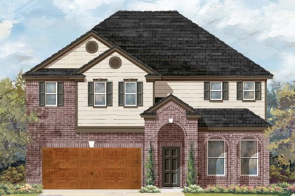 New Homes in Cibolo, TX - Plan 3023 A