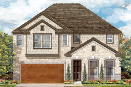 New Homes in Cibolo, TX - Plan 3023 C