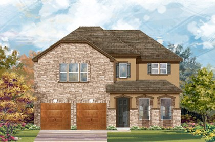 New Homes in Cibolo, TX - Plan 3023 D