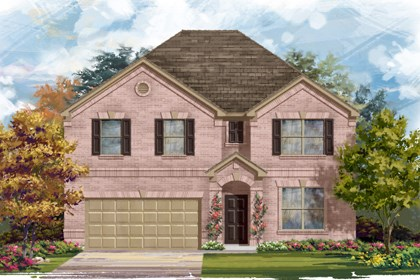 New Homes in Converse, TX - Plan 3125 1