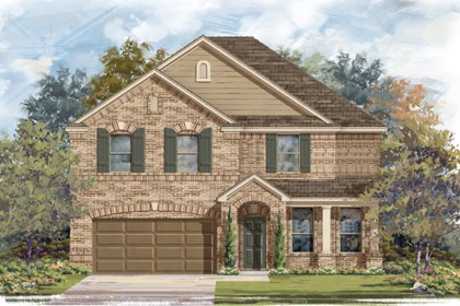 New Homes in Converse, TX - Plan 3125 2