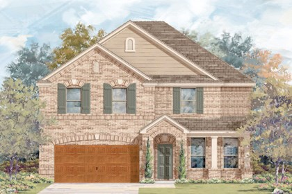 New Homes in Cibolo, TX - Plan 3125 - B