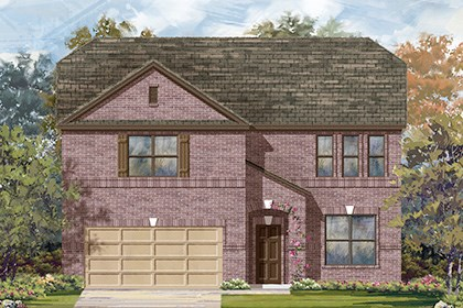 New Homes in Boerne, TX - The 3417 B