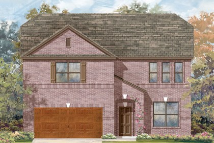 New Homes in Cibolo, TX - Plan 3417 - B