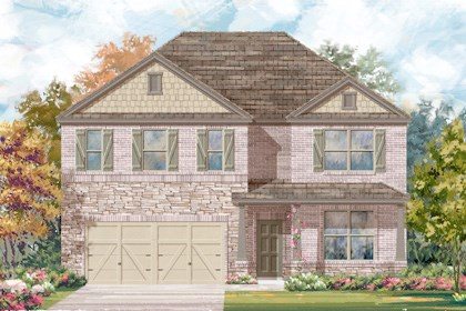 New Homes in Boerne, TX - The 3417 C