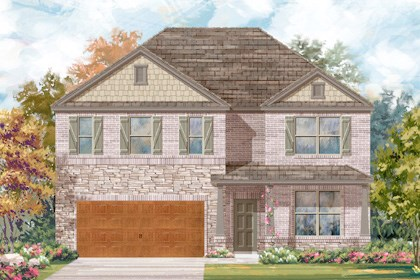 New Homes in Cibolo, TX - Plan 3417 - C