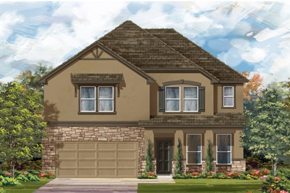New Homes in Boerne, TX - The 3417 D