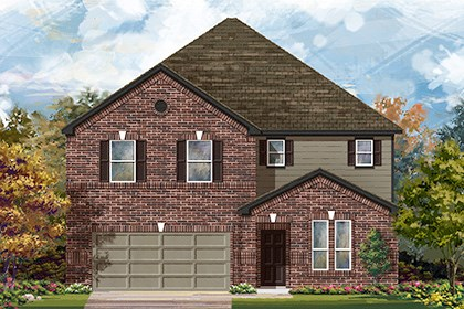 New Homes in San Antonio, TX - Plan 3475 A