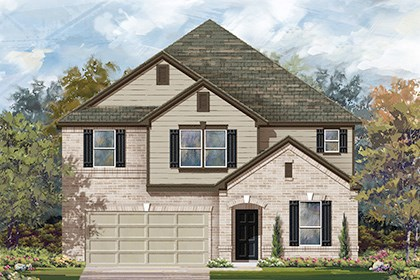 New Homes in San Antonio, TX - Plan 3475 B