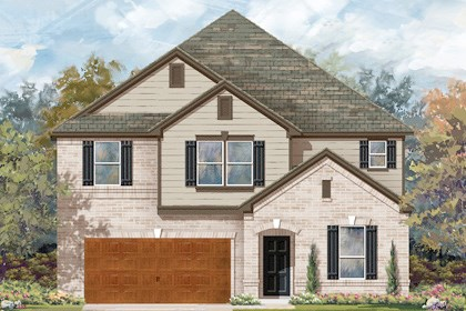 New Homes in Cibolo, TX - Plan 3475 B