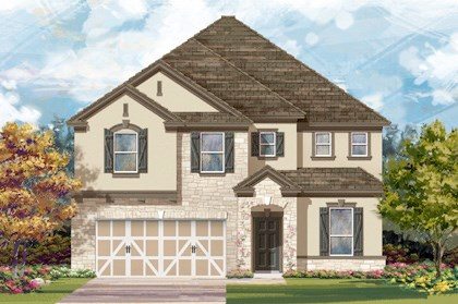 New Homes in Boerne, TX - Plan 3475 D