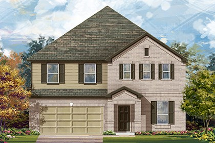 New Homes in Boerne, TX - The 3699 A