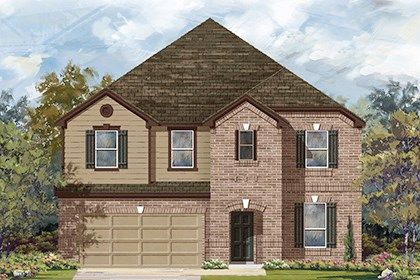 New Homes in Helotes, TX - Plan 3699 B