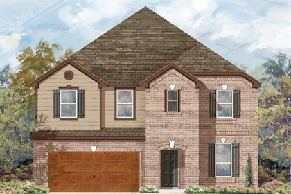 New Homes in Cibolo, TX - Plan 3699 B