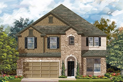New Homes in Helotes, TX - Plan 3699 C