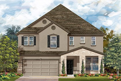 New Homes in Boerne, TX - The 3699 D