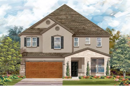 New Homes in Cibolo, TX - Plan 3699 D