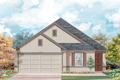 New Homes in Converse, TX - Plan 1892 E