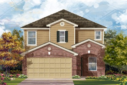 New Homes in San Antonio, TX - 2411 C
