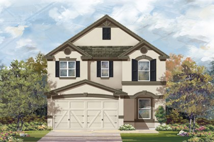 New Homes in San Antonio, TX - 2411 D