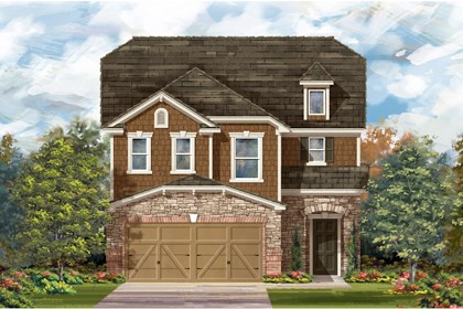 New Homes in San Antonio, TX - The 2604 E