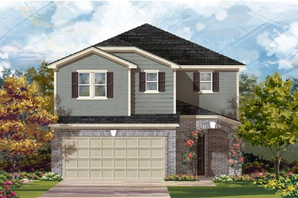 New Homes in San Antonio, TX - The 2708 C