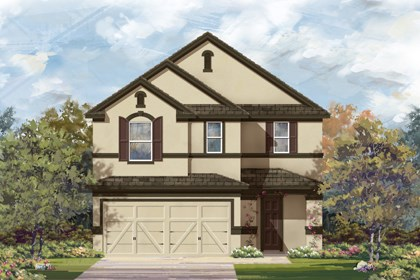 New Homes in San Antonio, TX - The 2708 D