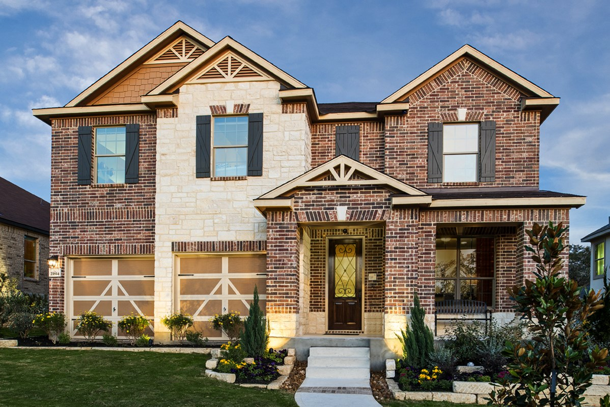 New homes for sale in san antonio tx fox grove for Pictures of new homes