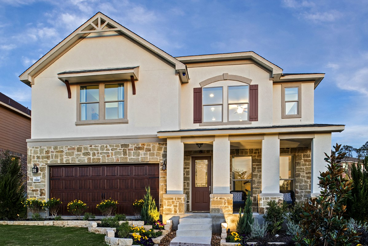 New Homes in San Antonio, TX - Fox Grove The 3417