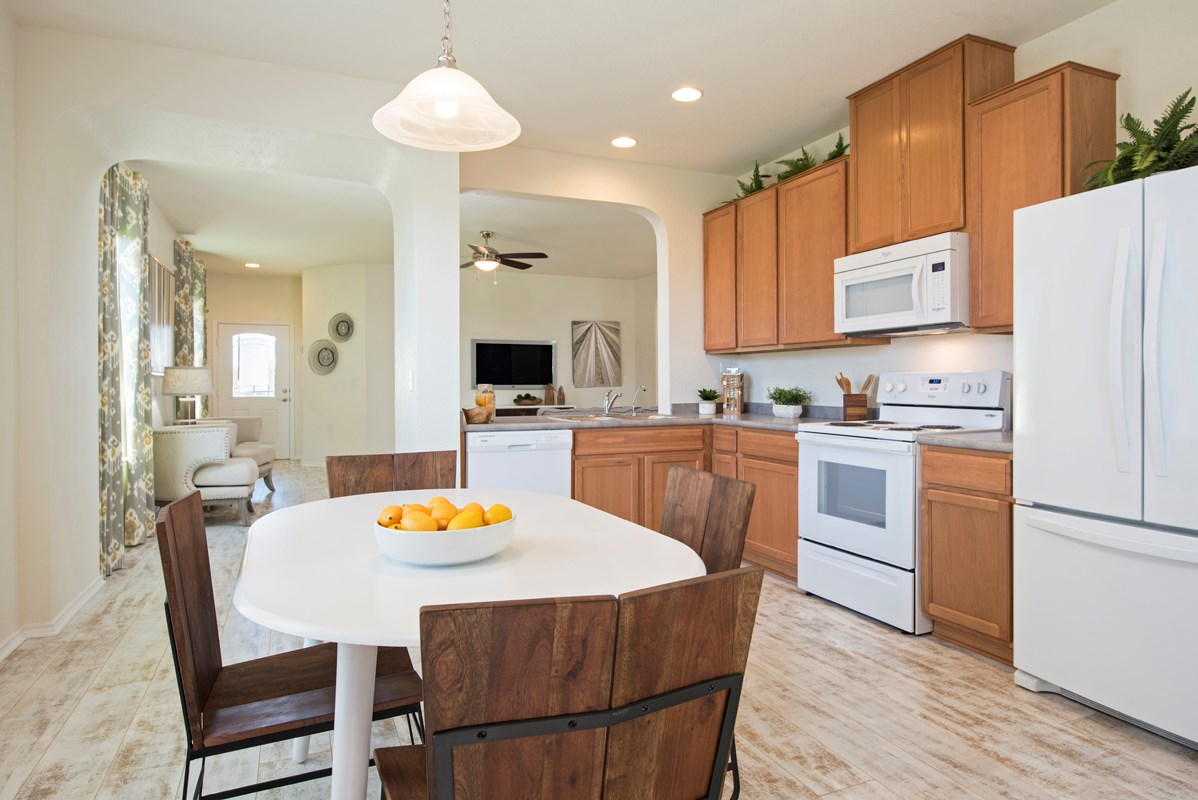 New Homes in San Antonio, TX - Heights at Northeast Crossing The 1516 Kitchen