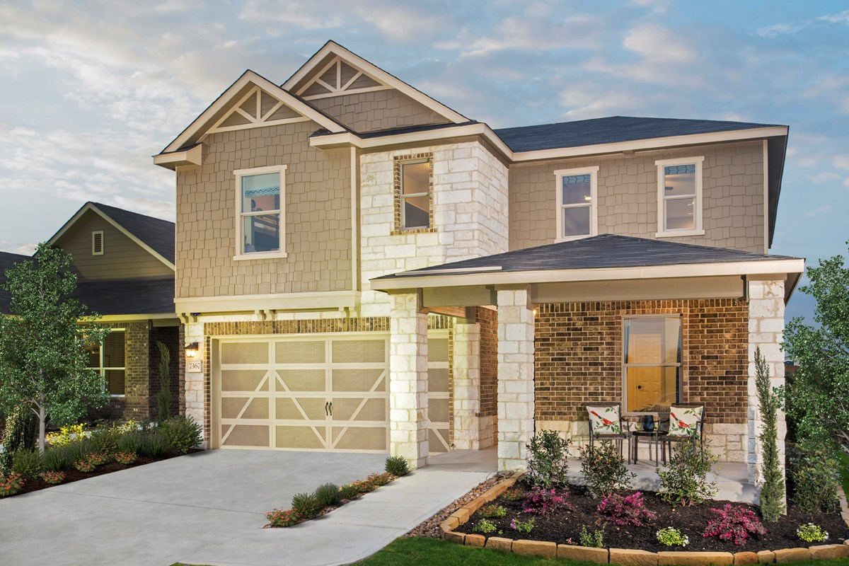 New Homes in New Braunfels, TX - Legend Point - The Reserves Plan 2403