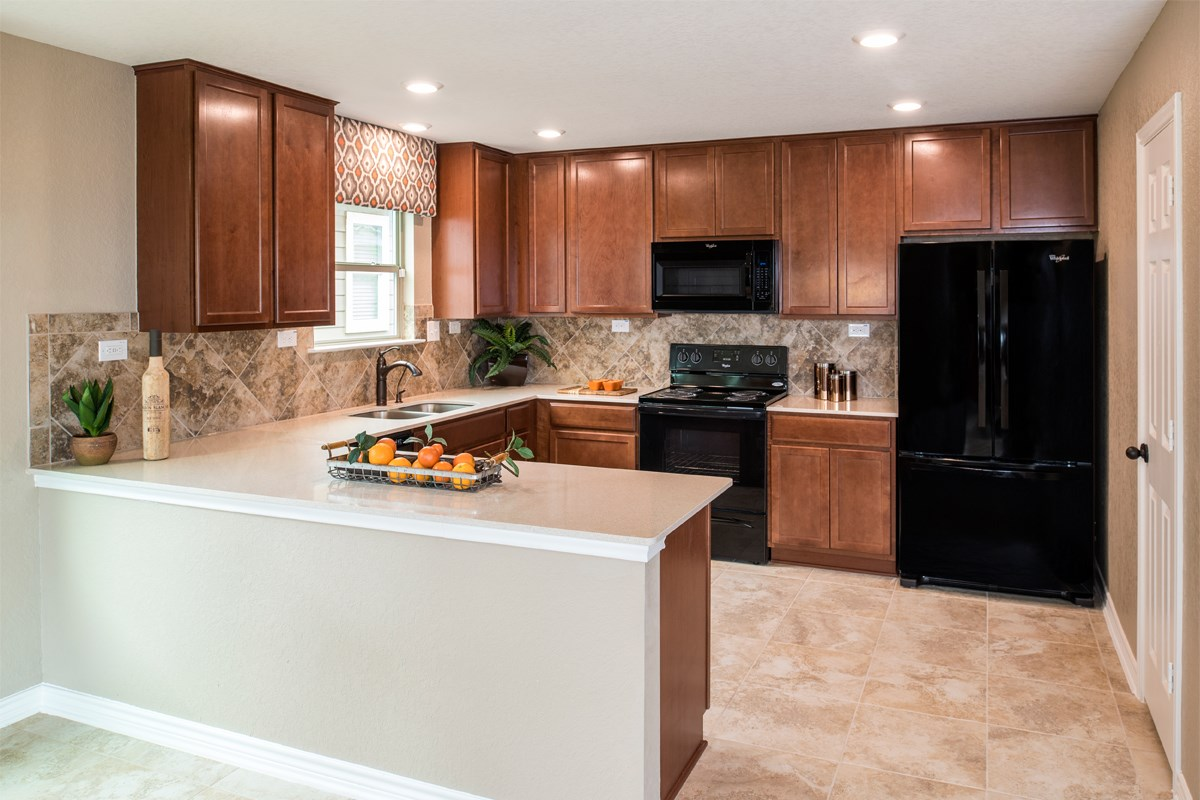 New Homes in San Antonio, TX - Hidden Canyons at TRP The 2239 Kitchen