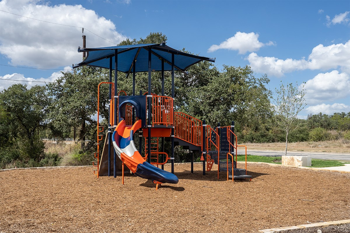 New Homes in San Antonio, TX - Hidden Bluffs at TRP Community Playground